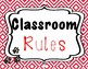 Classroom Rules and Behavior Chart dog theme