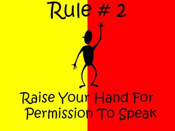 Classroom Rules and Behavior Managment Posters