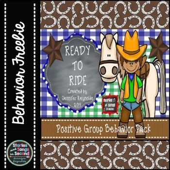 Classroom Rules and Clip Chart Posters--Ride Out To Great Behavior