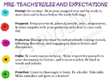 Classroom Rules and Computer Station Rules Templates