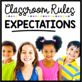 Classroom Rules and Expectations - I Can Slideshow - Back to School Mini Book
