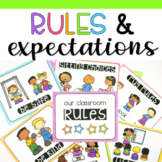 Classroom Rules and Expectations Posters