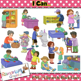 Routines and Life skills Clip art