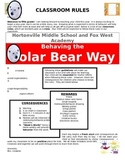 Classroom Rules and Mangagement Letter for Families and Students