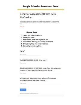 Classroom Rules and Procedures Handbook