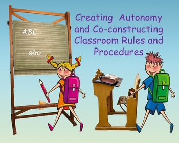 Classroom Rules and Procedures:  Introduction With Rubric
