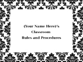 Classroom Rules and Procedures (Whole Brain Teaching)