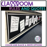 Simple and Powerful Classroom Rules and Quotes