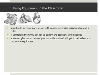 Classroom Rules and Routines