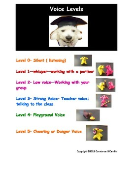 Classroom Rules and Voice Levels