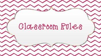 Classroom Rules , chevron