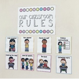 Classroom Rules display and Booklet