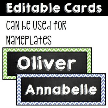 Classroom Rules - Editable!