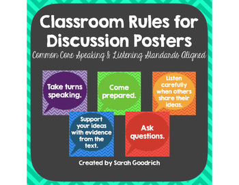 Classroom Rules for Discussion