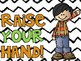 Classroom Rules for Kindergarten and First Grade