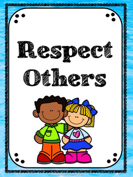 Back to School Classroom Rules Posters - Positive Rules