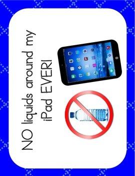 Classroom Rules for iPad
