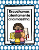 Classroom Rules in Spanish (Posters and Cards) Reglas del