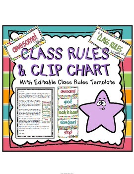 Classroom Rules {pastels}