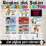 Classroom Rules posters -SPANISH
