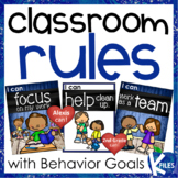 "Classroom Rules with ""I can"" Statements with Personal Beha"