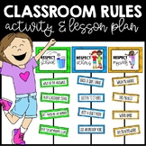 Classroom Rules with Lesson Plan