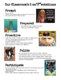 Classroom Rules with MEMES! MATCHING POSTER