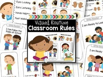 Classroom Rules for Preschool, Pre-K and Kindergarten - Editable