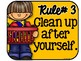 Classroom Rules with Student Booklet