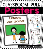 Classroom Rules Posters and Activities