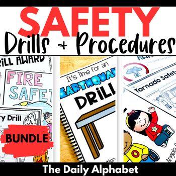 Classroom Safety Drills & Procedures (Fire, Tornado, Lockdown, Earthquake)