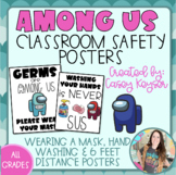 Classroom Safety Posters (Among Us themed)