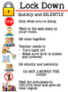Classroom Safety Posters with Pictures