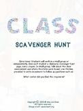Classroom Scavenger Hunt Activity