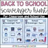 Classroom Scavenger Hunt Editable