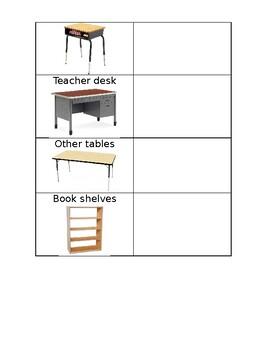 Classroom Scavenger Hunt - English and Spanish