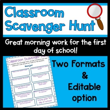 First Day Morning Work Worksheets & Teaching Resources   TpT