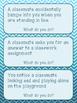 Classroom Scenarios Task Cards