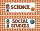 Classroom Schedule- Basketball Theme
