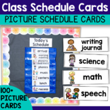 Class Visual Schedule Cards - Great Classroom Visuals!