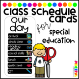 Whole Group Schedule Cards (General Ed, Special Ed & Homeschooling)