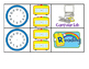 Classroom Schedule Labels for Pocket Chart