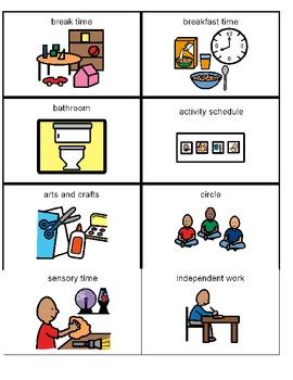 Classroom Schedule Pictures