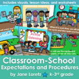 Classroom-School Expectations and Procedures Visuals