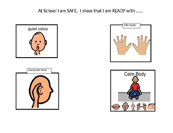 Classroom/School Expectations (with Visuals)