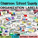 Classroom School Supply Labels