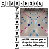 Classroom Scrabble - Interactive & Fun Game for the Class Floor