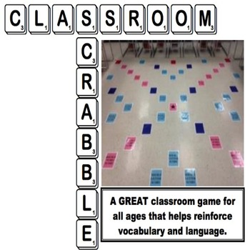Classroom Scrabble - Interactive & Fun Game for the Class Floor