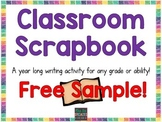 Classroom Scrapbook FREEBIE Sample