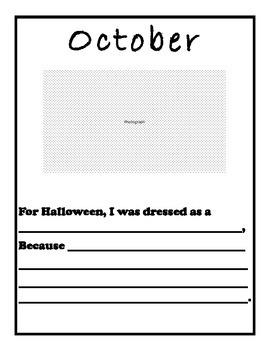 Classroom Scrapbook Template